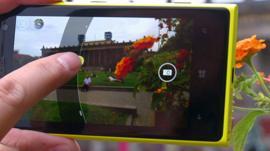 A camera phone