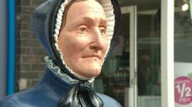 Model of Ann Glanville