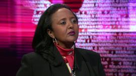 Kenya's Foreign Minister, Ambassador Amina Mohamed
