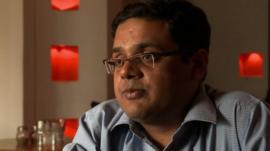 Saurabh Kumar, who studies online
