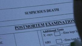 Post mortem form