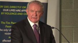 Northern Ireland Deputy First Minister Martin McGuinness