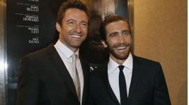 Hugh Jackman and Jake Gyllenhaal