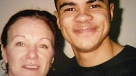 Pamela Duggan and her son Mark Duggan