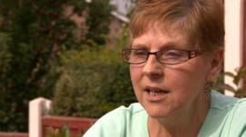 Patient Gail Boichat
