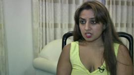 Sneha Kothari Mashru, a survivor of the Westgate Mall attack in Nairobi