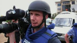 Cameraman Christian Parkinson
