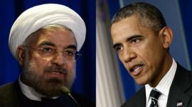 President Rouhani and President Obama