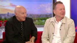 Midge Ure and Jim Kerr