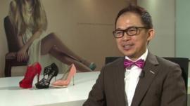 Shoe designer Lewré Lew, founder of Lewré International