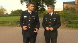 West Mercia and Warwickshire chief constables