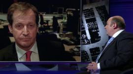 Alastair Campbell and Jon Steafel