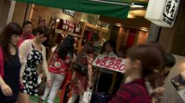 Tokyo shoppers