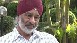 Gurdayal Singh, a Kenyan Indian who lost two members of his family in the attack