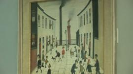 Painting by LS Lowry