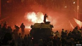 Unrest on Cairo's streets