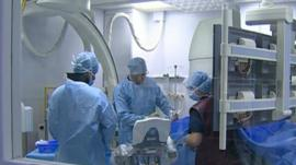 Surgeons in hospital