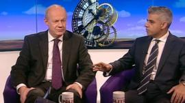 Damian Green and Sadiq Khan