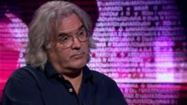 Film director Paul Greengrass