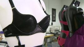 Lingerie made by specialist Leeds designer Something Wicked