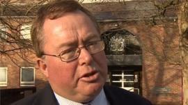 Michael Souter outside Norwich Magistrates' Court