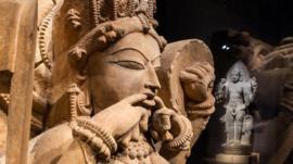 Sculptures from exhibit