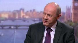 Damian Green on The Andrew Marr Show