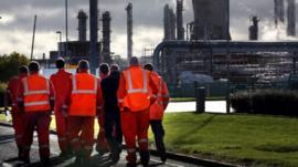 Grangemouth workers