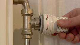 Hand turning radiator control