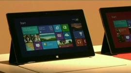 A Windows Surface tablet