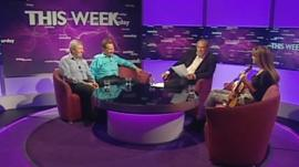 Alan Johnson, Michael Portillo, Andrew Neil and Nicola Benedetti