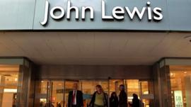 John Lewis doorway