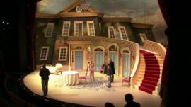 A theatre stage production in Birmingham