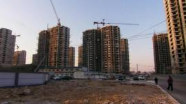Building site in Beijing