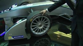 The latest Formula E car