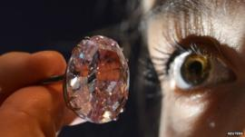 Pink Diamond - file photo
