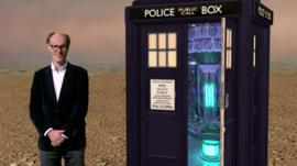 Will Gompertz and the Tardis