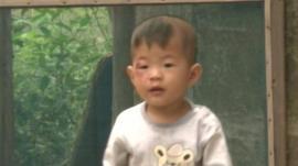 A Chinese child