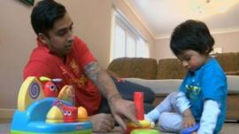 Sunny and Gaurav Bains