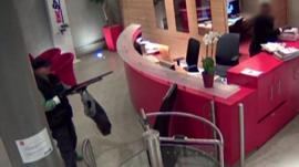Gunman in BFMTV offices
