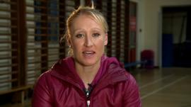 Former British number one Elena Baltacha