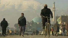 Afghan street