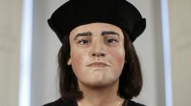 Facial reconstruction of Richard III
