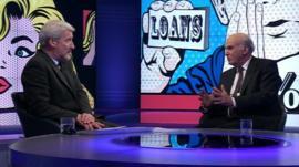 Jeremy Paxman interviews Vince Cable