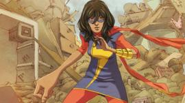 Ms Marvel, the new superhero from Marvel comics