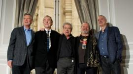 British comedy troupe Monty Python