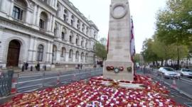 Cenotaph in Whitehall, London
