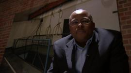 BBC reporter Milton Nkosi visits the Apartheid Museum in Johannesburg