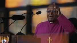 Retired Anglican Archbishop Desmond Tutu