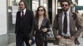 Christian Bale, Amy Adams and Bradley Cooper